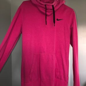 Pink Nike Cowl Neck size small